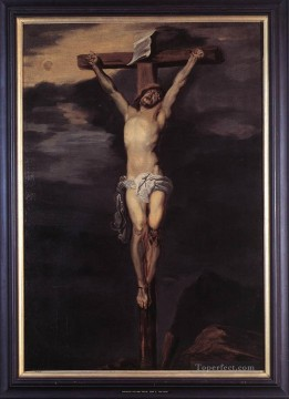Christus am Kreuz biblischen Anthony van Dyck Ölgemälde
